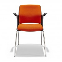 Discuss-4-leg-Armchair-fully-upholstered-Front