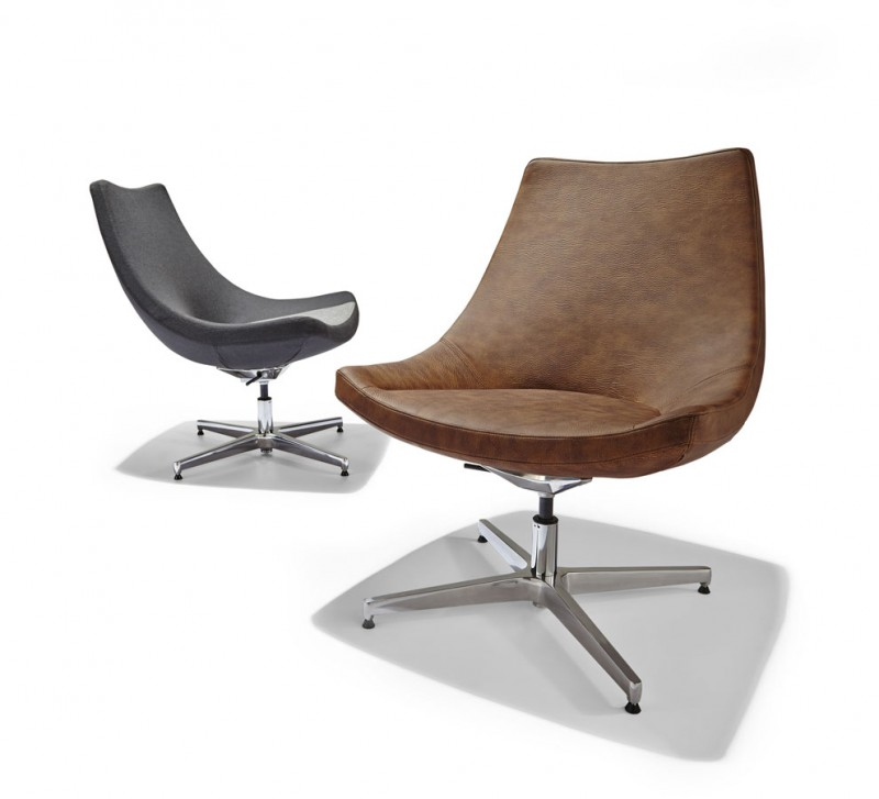 Pitcher Lounge Chair Ikon Furniture