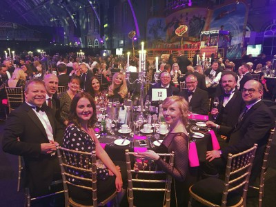 Ikon Furniture Team at Mixology North Awards